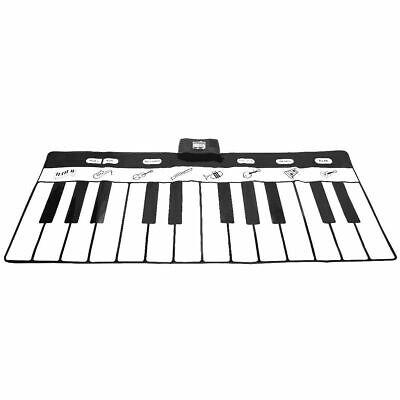 24 Key Gigantic Piano Keyboard Dance Playmat w/ 8 Instrument Settings Kids Toy (Gigantic Keyboard Playmat)