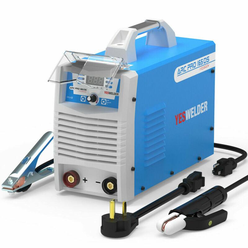 ARC Welder 165A 110/220V Digital Hot Start IGBT Stick Lift TIG Welding Machine