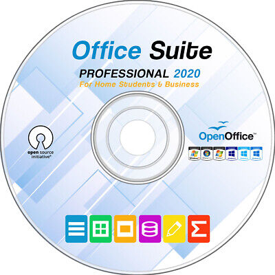 Open Office 2020 Professional for Microsoft Windows Home, Student and Pro