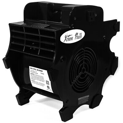 Industrial Portable Adjustable Fan Blower 3 Speed High Velocity Built-in Outlets 3 Built In Fans
