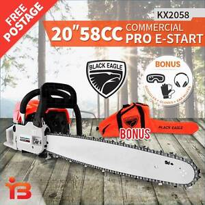 "Discount on New 58cc Petrol Chainsaw 20"" Bar & Chain Fairfield Fairfield Area Preview"