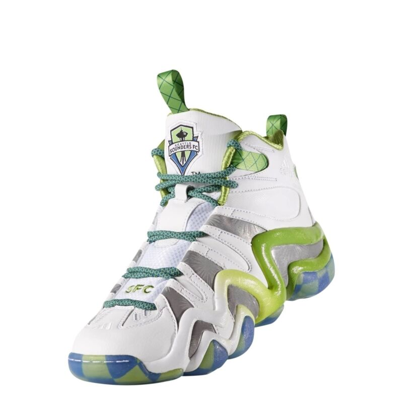 new concept cf743 495ff ADIDAS Basketball Shoes CRAZY 8 MLS SEATTLE SOUNDERS D69034