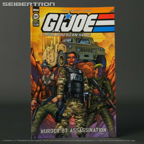 GI JOE Real American Hero #281 Cvr A IDW Comics 2021 JAN210438 281A (CA)Griffith
