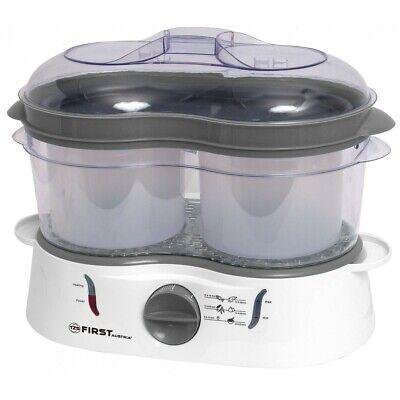 Cocina al vapor 3 recipientes.