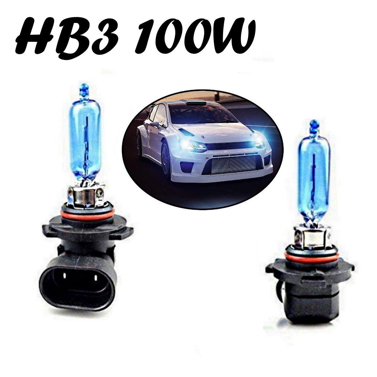 2x H8 H9 H11 3000K 100W Hochleistungs-CREE LED Nebelscheinwerfer Canbus Lampe DE