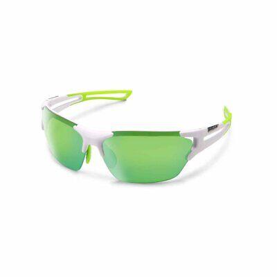 Suncloud Cutback Polarized Sunglasses, Matte White, Green (Matte White Sunglasses)