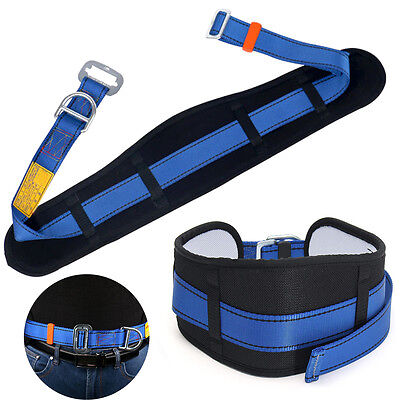 1pc Rock Safety Climbing Fall Protection Waist Belt Harness Wd-ring Equip Gear