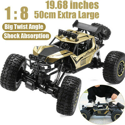 1:8 RC Car 4WD Remote Control Vehicle 2.4G Electric Monster Buggy Off-Road Car