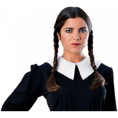 Wednesday Addams Wig Adult Addams Family Halloween Costume Fancy Dress
