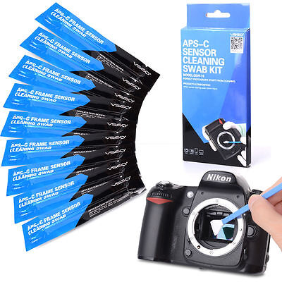 VSGO DDR-15 Digital Camera APC-S Sensor Cleaning Kits (10 X 16mm Sensor Swab)