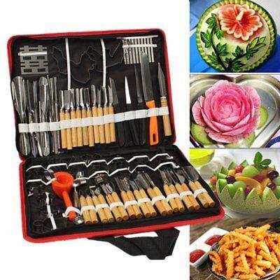 80x Professional Pumpkin Engraver Carving Tool Kit Set Carve Knife Kitchen Fruit (Pumpkin Carving Knives)