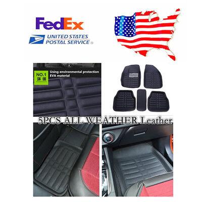 Car Floor Mats Front  Rear Liner Waterproof All Weather Heavy Duty Floor Rubber