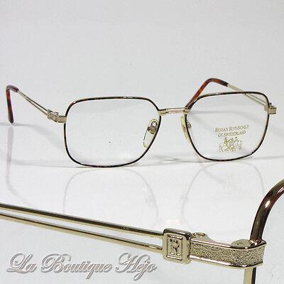 Kleidung & Accessoires Sonnenbrillen & Zubehör Vintage Roman Rothschild Luxus Brille R 17 Col 2 18k Gold Glasses Lunettes Nos