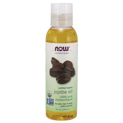 Now Foods 100% Pure Organic Jojoba Oil - 4 fl oz