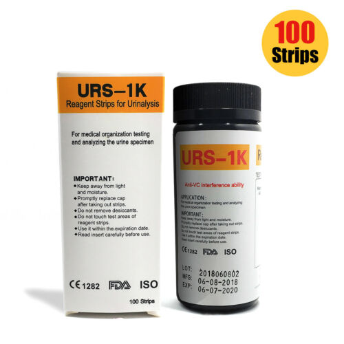 $ 12 - 100x Ketone Strips / Home Ketosis Urine Test - Atkins Diet Weight Loss Tests DJ8