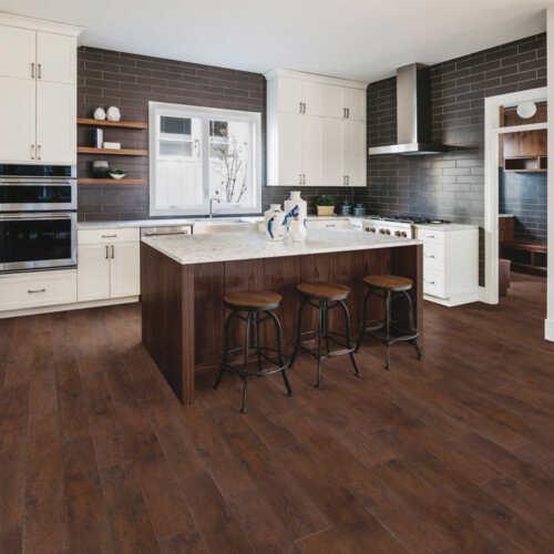 Mohawk Home Rustic Spiced Oak Laminate Flooring + Pad, 18.14 Sq ft. per box