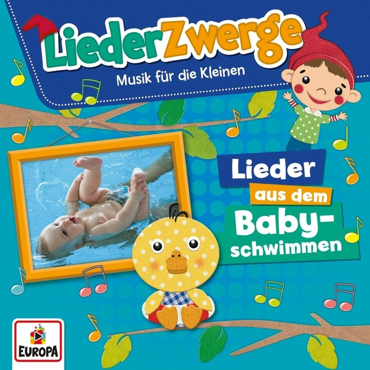 FELIX & DIE KITA-KIDS LENA - LIEDERZWERGE-LIEDER AUS DEM BABYSCHWIMMEN  CD NEU