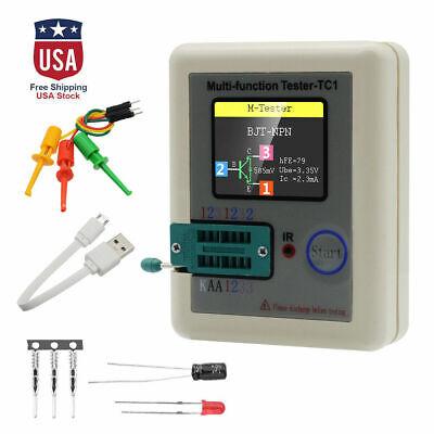Transistor Tester Tft Diode Triode Capacitance Meter Lcr Esr Npn Pnp Mosfet
