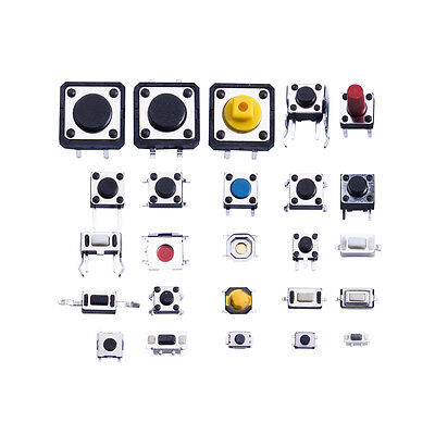 25 Types Momentary Tactile Push Button Switch Micro Smd Smt Tact Switches Us