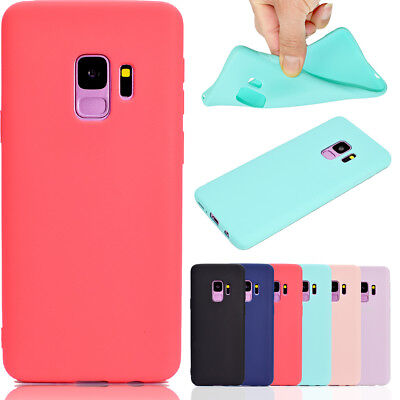 Silicone Cute Candy Rubber Gel TPU Case Cover Skin For Samsung S9 Plus Huawei (Cute Candy)