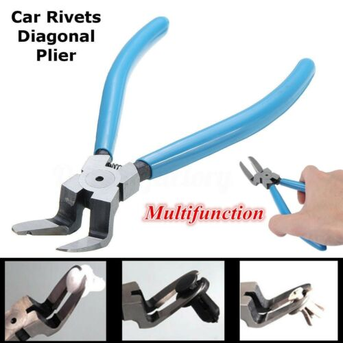 Car Push Pin Retainer Fastener Rivets Trim Clip Cutter Puller Plier Removal Tool