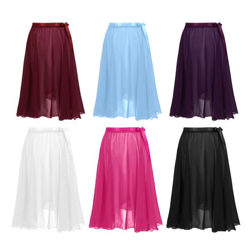 30bb93695 Women's Fashion Chiffon Wrap Skirt Ballet Dance Dress Adult Performance  CostumeUSD 12.95