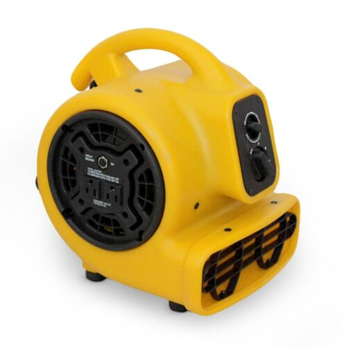Zoom 1/5 HP Floor Dryer 3 Speed Portable Air Blower Wet Room Carpet 800 CFM Fan