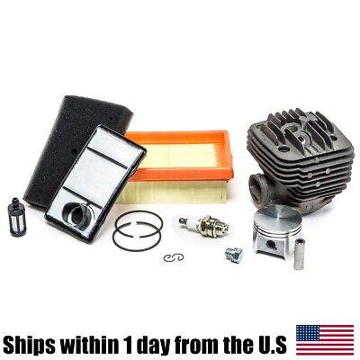 Rebuild Kit Made With Nikasil Cylinder Piston Filter For Stihl Ts400 Saw