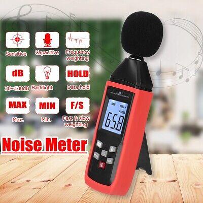 Lcd Digital Sound Level Meter Noise Decibel Tester 30-130db Monitor