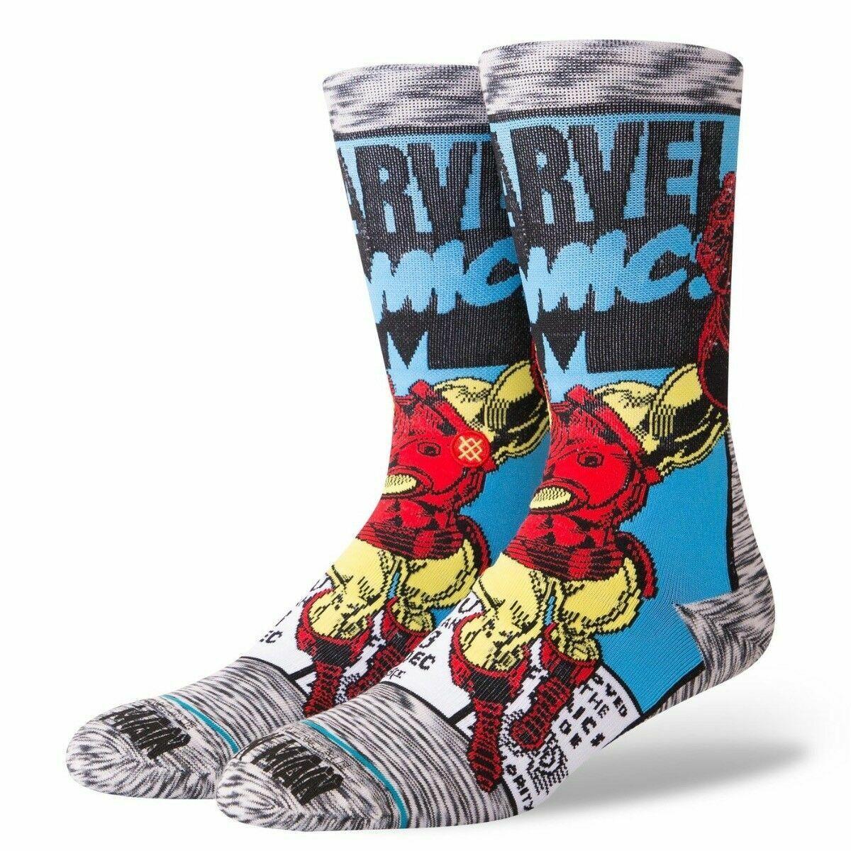 Stance Marvel Iron Man Comic  Socken L 43-46   Herren