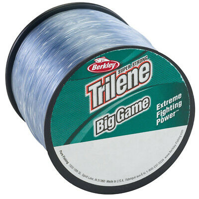 Berkley Trilene Big Game Fishing Line (1500 yds) - 10 lb Test - Clear ()