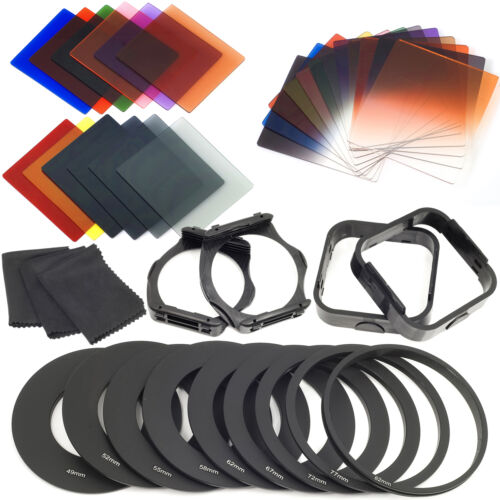 Complete Square Filter Kit for Cokin P Series + Filter Holder + Lens Hood LF141