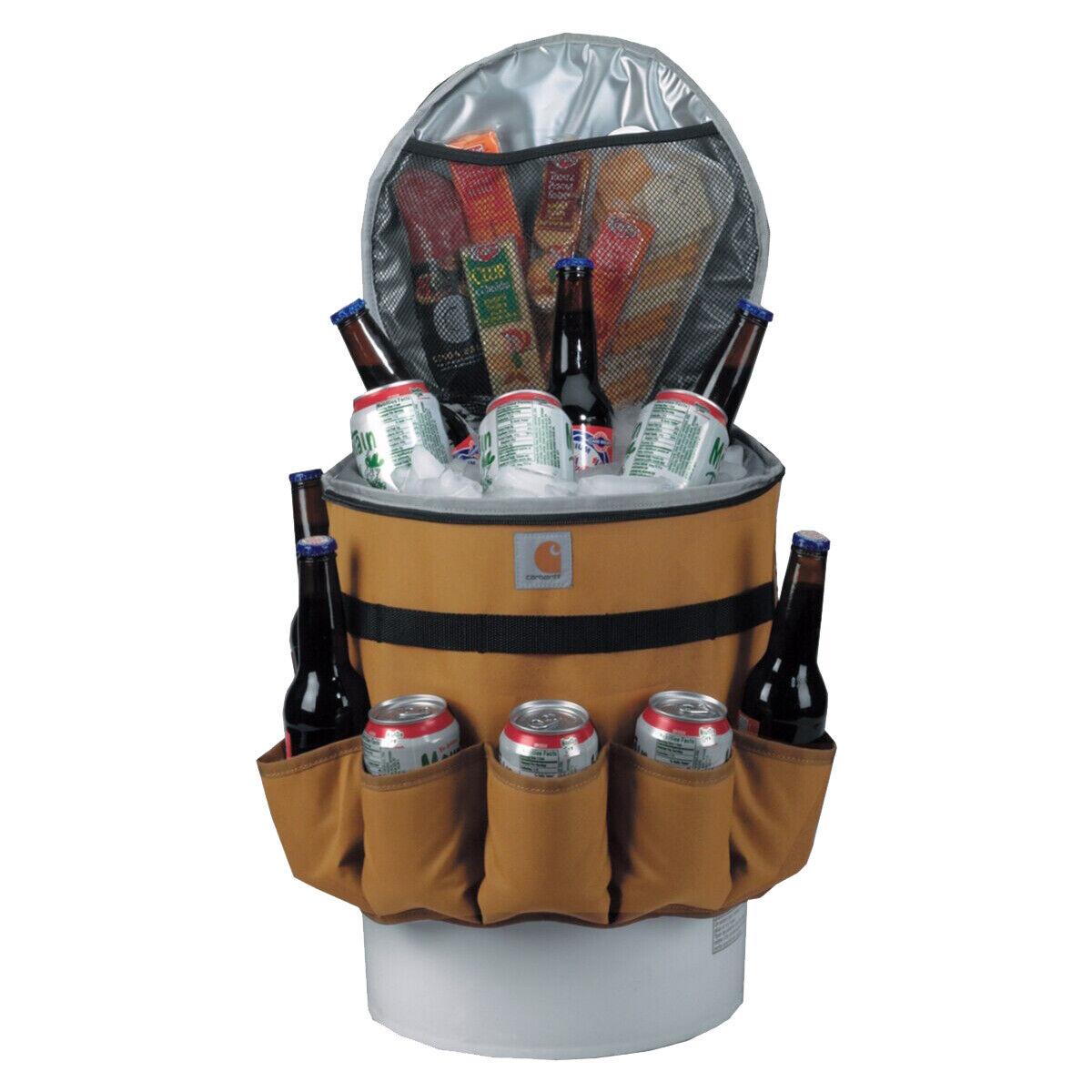Carhartt 5 Gallon Carhartt Brown Bucket Cooler