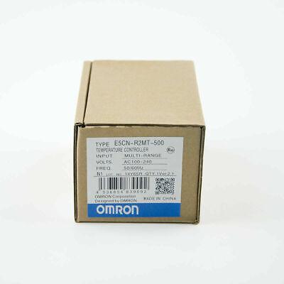 Omron Digital Temperature Controller E5cn-r2mt-500 100-240v 5060hz New In Box
