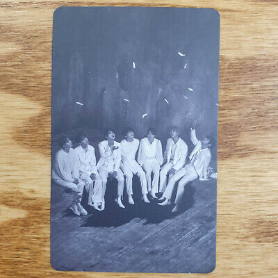 Group Cut Official Photocard BTS Map Of The Soul : 7 Version 1 Genuine Kpop