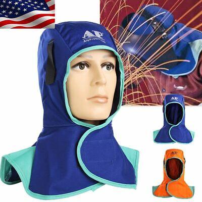 Flame Retardant Welding Head Neck Protective Hood Welder Head Cap Safety Hat New