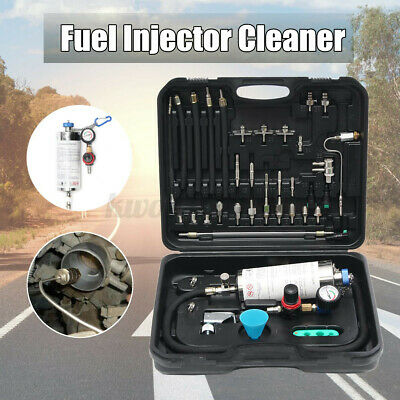 600ml Auto Non-Dismantle Fuel Injector Cleaner and Tester Air Intake System US