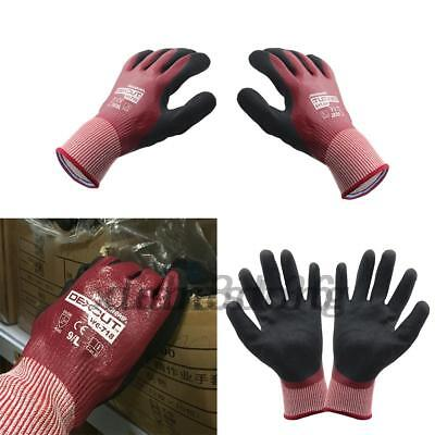Wonder Grip Water-proof Oil Resistant Nitrile Palm Gloves For Heavy Industry Us