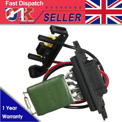 Heater Motor Blower Fan Resistor 7701207717 509536 For Renault Megane Mk2