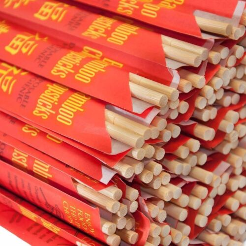 """USA Seller Asian Bamboo Chopsticks 9"""" 10 Pair to 1000 Pair Free Shipping US Only"""