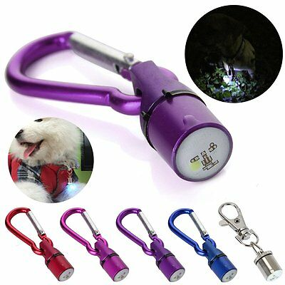 Pet Dog Cat LED Flashing Glow Collar Blinker Safety Night Light Pendant Keychain - Safety Cat Keychain