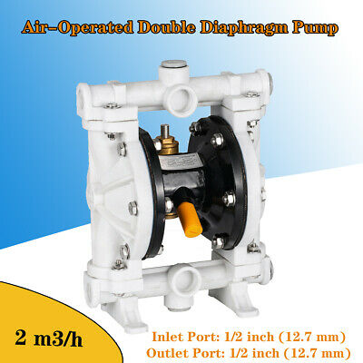 Air-operated Double Diaphragm Pump 13 Gpm 100 Psi 12 Inlet Outlet Qby-15pp