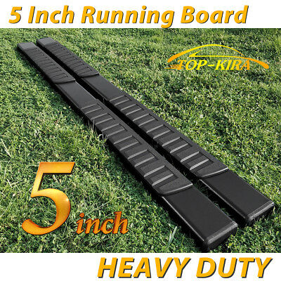 "For 99-16 FORD F250/350/450 Superduty Crew Cab 5"" Running Board Nerf Bar H"