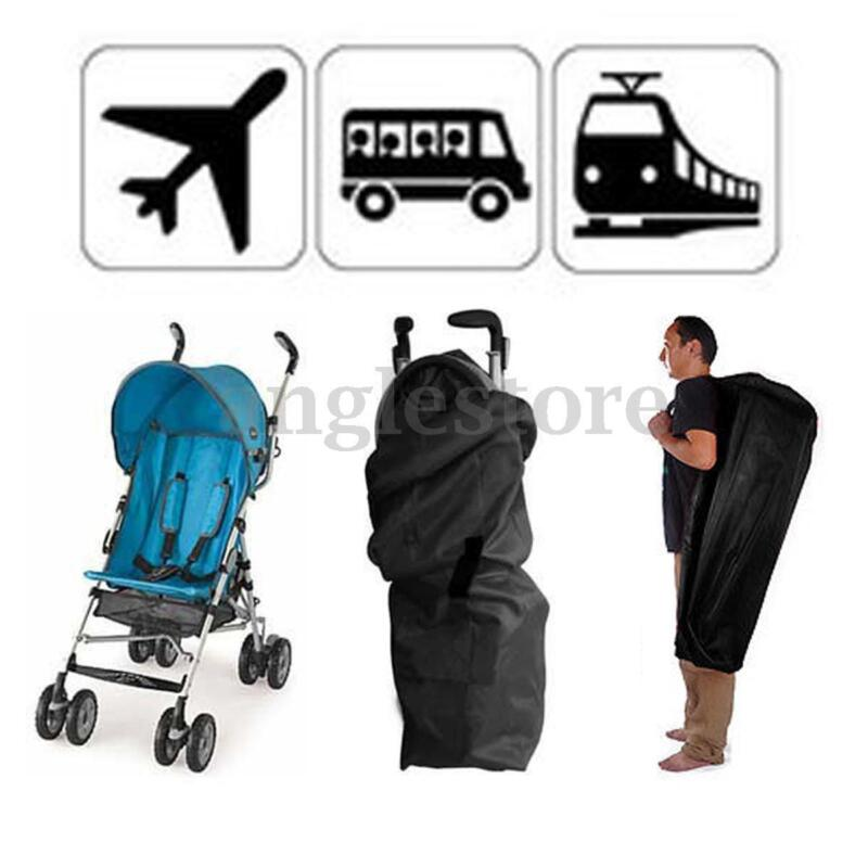 Travel Baby Umbrella Stroller Pram Air Plane Train Gate Check Buggy Bag Cover