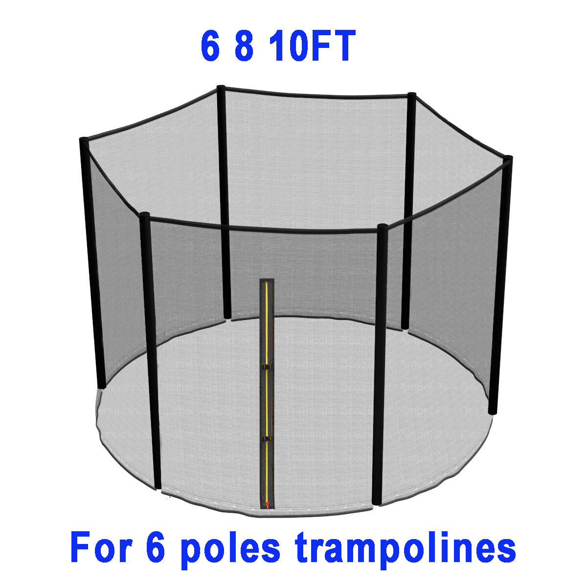 TRAMPOLINE REPLACEMENT PAD PADDING SAFETY NET COVER LADDER SKIRT 6 8 10 12 14FT - 3