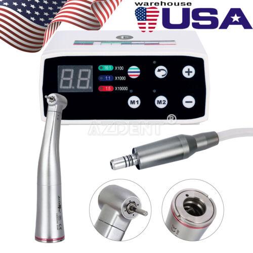 Dental Brushless Electric Motor Micromotor + 1:5 Speed Increasing High Handpiece