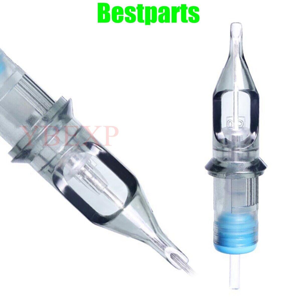 как выглядит 10/20pcs Disposable Tattoo Needle Cartridges Sterilized Round Liner Shaders US фото