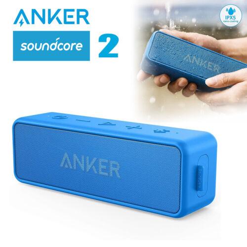 Soundcore 2 Portable Bluetooth Speaker Rich Bass Stereo Outdoor Wireless Speaker