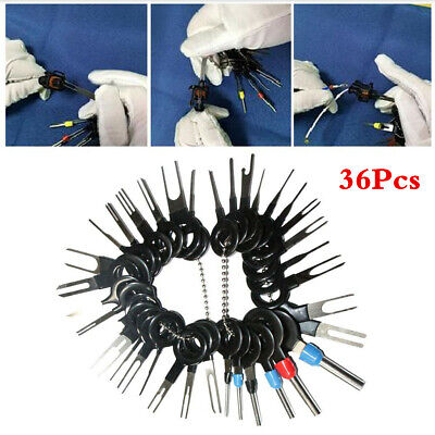 Car Electrical Wiring Crimp Connector Pin Extractor Plug Terminal Removal Tool