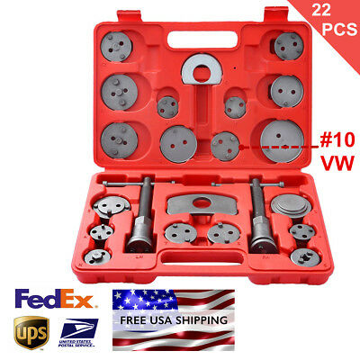 (22pcs Heavy Duty Disc Brake Caliper Tool Set and Wind Back Kit for Brake Pad )